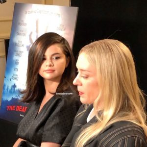 14 May new backstage video of Selena from interview for Cannes Film Festival