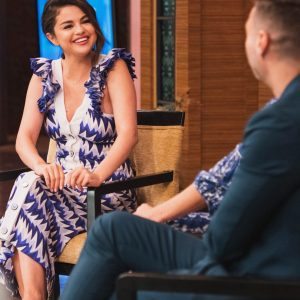 12 June new videos of Selena from Live With Kelly And Ryan!
