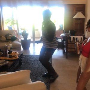28 June Selena in Theresa Mingus's Instagram Story