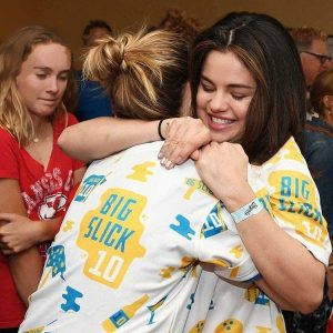 8 June more pics of Selena at The Big Slick celebrity bowling tournament in Kansas