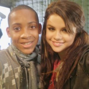 18 August new pics of Selena behind the scenes of Sears Arrive Lounge from 2009