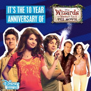 28 August @disneychanneluk on Instagram: Can you believe it's been 10 YEARS since #WizardsOfWaverlyPlace: The Movie?!