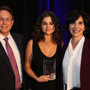 18 September Selena on Instagram: So humbled to have been part of the incredible McLean Hospital's Annual Dinner