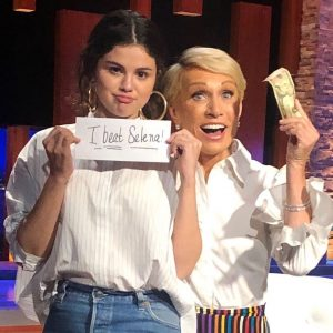 20 September @barbaracorcoran on Instagram: @selenagomez tried her hand at @sharktankabc making a bet