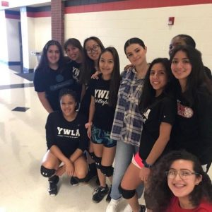 9 September more pics and videos of Selena at Danny Jones Middle School in Grand Prerie, Texas