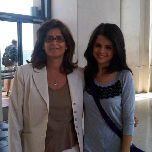14 September Selena with a fan in 2011