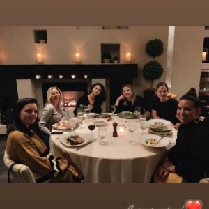 15 September Selena in Raquelle Stevens's and Marissa Marino's Instagram Stories