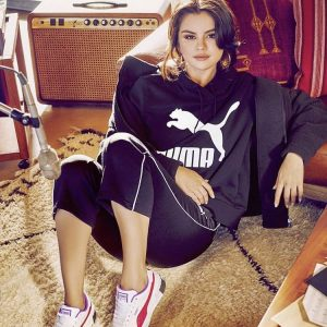 25 September pics of Selena from new photoshoot for Puma Cali Chase collection
