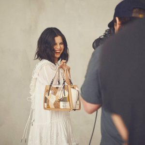 13 September couple of new pics with Selena from photoshoot for Selena x Coach