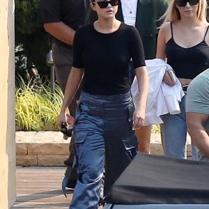 11 October Selena spotted out and about in Malibu, California