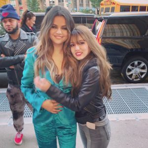 28 October Selena with fans in New York