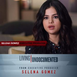 1 October Selena talks immigration issues with Time