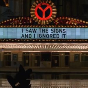 17 October Selena on Twitter: I saw the signs and I ignored it