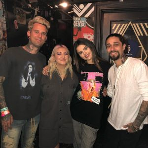 12 November @bradreis_tattoo on Instagram: So last night I got to tattoo @selenagomez while my main brother @londonreese tattooed his bestie @juliamichaels