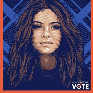 7 November Selena is a part of Michelle Obama's Voting Squad