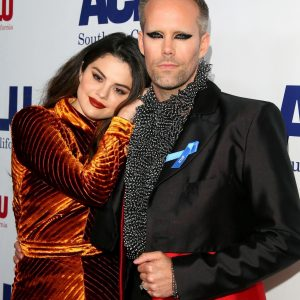 17 November Selena at ACLU SoCal's Annual Bill of Rights dinner in Beverly Hills, California