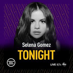 24 November Selena on Twitter: Tonight's the night!