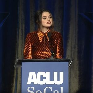 22 November check out full video of Selena presenting Justin Trainer at ACLU SoCal's Annual Bill of Rights dinner