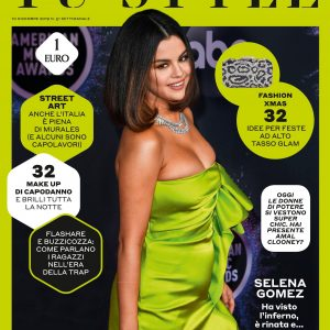 10 December Selena on the cover of december issue of TuStyle magazine