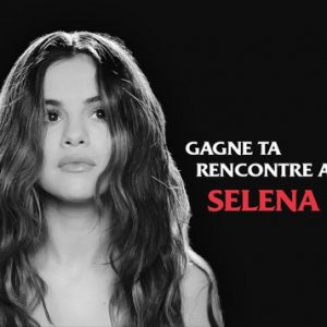 9 December pre-save new Selena's album and get the chance to meet her in Paris