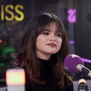 20 December new pics of Selena on Kiss Fm UK in London