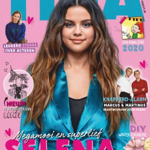 29 December Selena on the cover of Dutch magazine TiNA