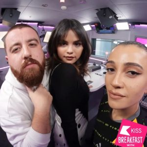 "17 December check out Selena's Interview for ""Kiss Breakfast"" on Kiss Fm UK"