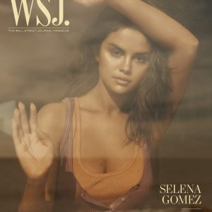 8 January Selena on the cover of Wall Street Journal Magazine