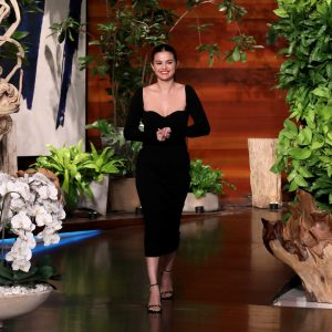 24 January pics from Selena's appearance on The Ellen Show