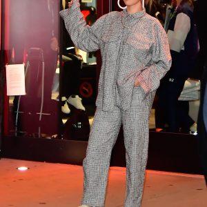 14 January Selena leaving Meet & Greet at Puma Flashgrip Store in New York