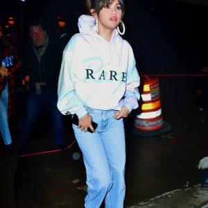 14 January Selena arriving at the tattoo studio Bang Bang in New York