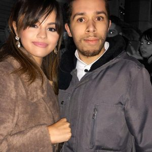 13 January Selena with fans in New York