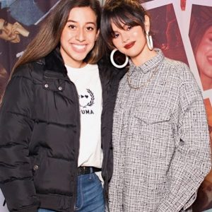 14 January more new of Selena with fans at Puma Flashgrip Store in New York
