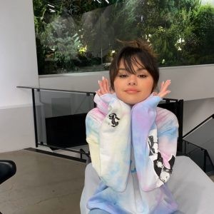 15 January Selena on Instagram Stories