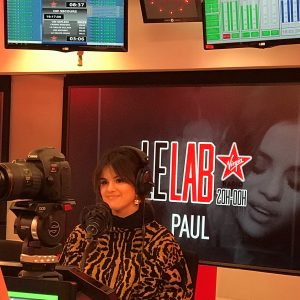 "12 January check out Selena's interview on the show ""Le Lab"" on Radio Virgin"