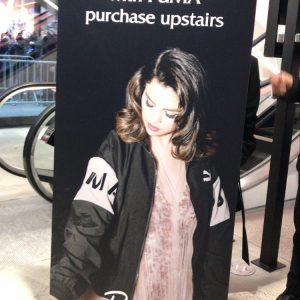 15 January cute Rare promo banners at the Puma store in New York