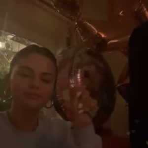 11 January full Selena's Instagram live chat with Kid Cudi