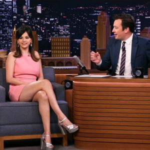 "13 January Selena appeared on ""The Tonight Show Starring Jimmy Fallon"""