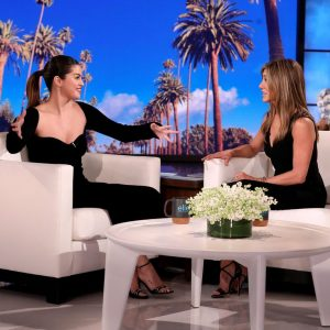 24 January watch Selena's interview with Jennifer Aniston on The Ellen Show