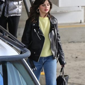 4 February Selena leaving business meeting in Los Angeles