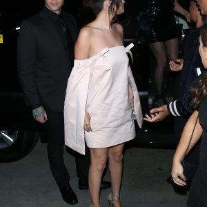 6 February Selena arriving at Hollywood Beauty Awards in Los Angeles plus pics from backstage