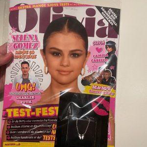 19 February Selena on the cover of Dutch magazine Olivia