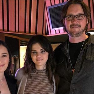 24 February new pic of Selena at The Village Studio