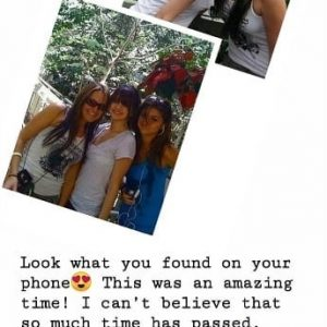28 February Selena in Shannon Hollman's Instagram Story