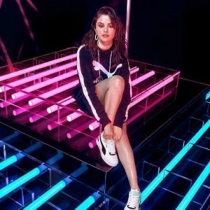 21 February new pic of Selena from photoshoot for Puma Cali Sport Heritage collection