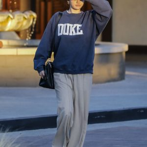 2 February Selena is out in Studio City, California