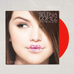 14 February pre-order Kiss & Tell Red Vinyl Limited Edition