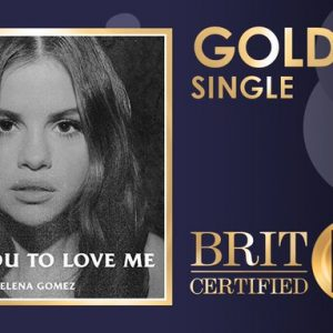 14 February Lose You To Love Me certified gold in the UK