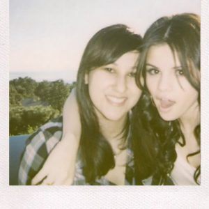 28 March check out new rare polaroids of Selena with lucky fans who won the contest to meet her in 2009