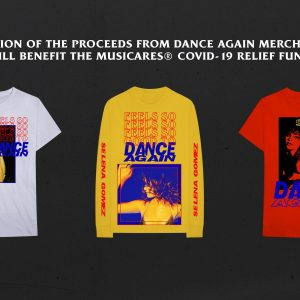 26 March when you buy Dance Again merch you help to fight with COVID-19!